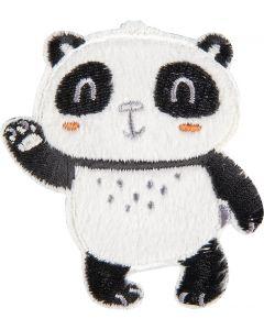 Panda winkend