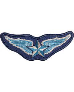 Stern mit Flügeln