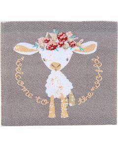 Schaf im Viereck